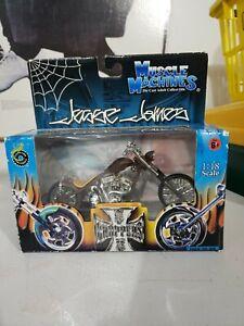 West Coast Choppers CHANGO BLANCO Jesse James 1/18 Diecast Motorcycle
