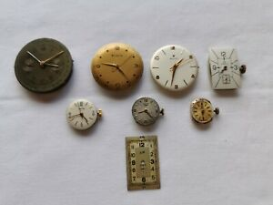 Lot montres  zénith Longines oméga ancienne