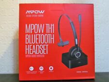 MPOW TH1 Wireless Bluetooth Headset and Charger (great for driving, gaming ect.)