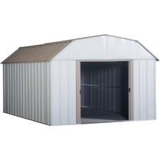 Arrow Sheds 10 x 14 ft Lexington Steel Storage Outdoor Garden Shed