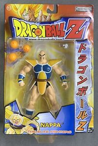 DRAGON BALL Z NAPPA THE ELITE FIGHTERS - JAKKS PACIFIC - RARE & SEALED IN BOX!