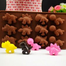 Silicone Dinosaur Animal Cake Decorating Mold Candy Cookie Chocolate Baking Mold