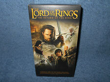 THE LORD OF THE RINGS THE RETURN OF THE KING 2 VHS TAPE SET - BRAND NEW SEALED