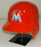 MIAMI MARLINS ORANGE Rawlings Coolflo Full Size Official Batting Helmet - Righty