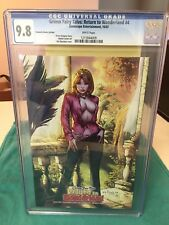 CGC 9.8 Grimm Fairy Tales: Return to Wonderland #4 Fantastic Realm Edition