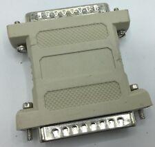 3 Pack DB25 Male to DB 25 Male Gender Changers DB25 M/M Port Savers