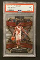 2019-20 Panini Select Coby White Rookie RC 🔥📈 PSA 9 MINT Chicago Bulls INVEST!