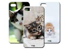 IPM CUSTODIA COVER CASE GATTO GATTINO KITTY CAT PER iPHONE 4 S 4S