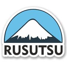 2 x Rusutsu Ski Snowboard Vinyl Sticker Laptop Travel Luggage Car #5156