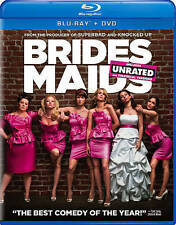Bridesmaids (Blu-ray + DVD), New Sealed, Unrated 2-Disc, Free Shipping