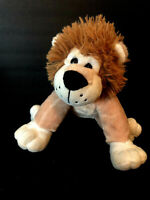 DAN DEE Stuffed LION Super Soft  Plush/Toy Brown Tan Collectors Choice  Lovey
