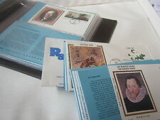 First Day Covers with Album 1980 and 1983, total of 35 Covers Mixed lot stamps