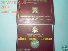 2 euro 2004 folder VATICANO 75 ° anno stato Vatican Vatikan Ватикан Watykan