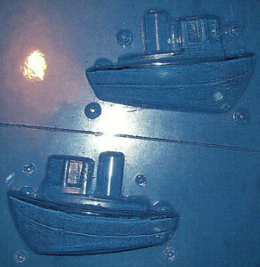 MEDIUM SIZED 3 DIMENSIONAL TUG BOAT CHOCOLATE MOULD OR PLASTER MOULD