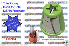 Tefal MB750 Fresh Express Mini Processor Green Thin Slicing Insert SS193079 NEW