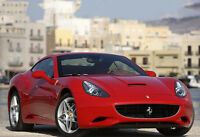 Red 2013 Ferrari California - Car Poster Print - Exotic Car Photo - Wall Art