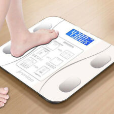 Bluetooth LCD Digital Smart Scale Body Weight Fat BMI Electronic Analyzer Scales