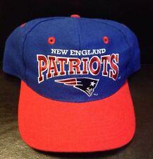 Vintage New England Patriots Adjustable Hat NFL The Game 1990s