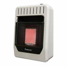 ProCom 10,000 BTU Plaque Infrared Propane Gas Wall Heater
