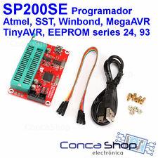 PROGRAMADOR MCU MPU EEPROM SP200SE SP200 USB ISP ATMEL MICROCHIP SST ST WINBOND