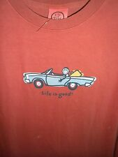 "LIFE IS GOOD..ORIGINAL STYLE..PAST SEASON....S/S TEE......""CONVERTIBLE JAKE"".(M"