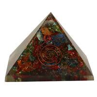 Extra Large Multi-Stone Orgonite (70-75mm) Orgone Gemstone Pyramid X-large