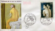 FRANCE FDC - 622 1530 1 TABLEAU LA BAIGNEUSE INGRES - 9 Septembre 1967