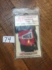 NOS - Red and Black PAST Profesional Handgun Glove - Right Hand - size Small NEW