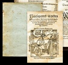 1556 Brunschwig Hieronymus Haußapoteck Hausapotheke Augsburg