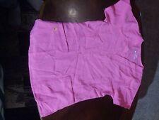 Four-Stretch4 Womens Scrub Top Small pink Pen Pocket Uniform