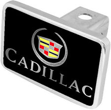 New Cadillac Mirrored Logo/Word Tow Hitch Cover Plug