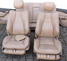 Mercedes W220 S-Klasse Ledersitze Lederaustattung Beige