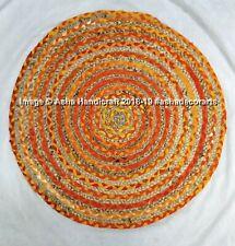 Indian Hippie Multicolor Handmade Braided Rugs Carpet Mat Reversible Area Rugs1