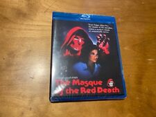 The Masque of the Red Death Blu ray*Scorpion Releasing*90's Horror*Sealed/NEW*