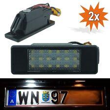 2x LED Kennzeichenbeleuchtung Mercedes Viano Vito Sprinter TÜV frei B17