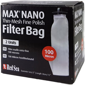 Red Sea Max Nano Filter Bag 100 Micron