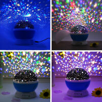 TOYS FOR 2-10 Year Old Kid LED Star Night Light  Moon Constellation US Baby Gift