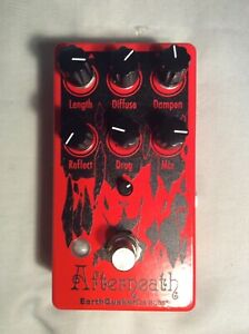 Earthquaker Devices Afterneath V3 Reverb Pedal, Mint Condition