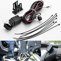 Motorcycle 2.1A Dual USB Cell Phone Power Supply Port SAE to USB Socket Charger