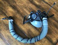 Gentex Oxygen Mask MBU-20P LARGE WIDE - 17 18 19 for PILOT FLIGHT HELMETS