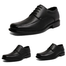 Mens Black Dress Shoes Formal Casual Shoes Wedding Shoes Size US 6.5-13