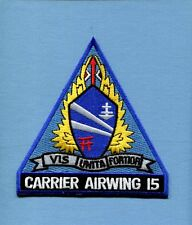 CVW-15 CARRIER AIR WING 15 US Navy Aircraft Carrier Ship squadron Jacket Patch