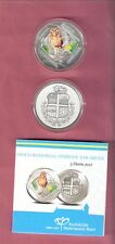 ARUBA 5 FLORIN 2012 PROOF SHOCO Burrowing Owl Augmented Reality Silver Coin BIRD
