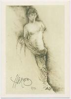 Walter Herzog - original signiert Autogramm auf Kunstpostkarte Venus von Priene