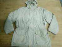 Henry Cottons Piumino Donna Tg XXL Beige Cappotto Lungo Giacca Casual Inverno