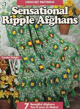Sensational Ripple Afghans, House of White Birches Crochet Pattern Booklet