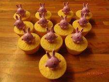 12 Bunny cupcake rings