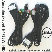 2x faisceau h4/9003 bi xenon HID Ampoules 12v + relais & sauvegarde BOOSTER 35w