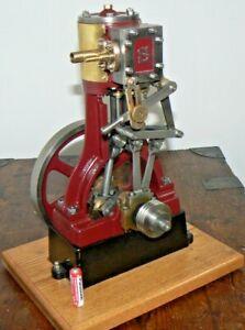 Vintage Rare Stuart Turner No5 Live Steam Marine Engine With Reversing Gear