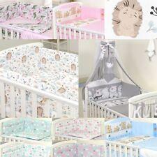 3 6 9 11 tlg Babybettwäsche BabyBett 120x60, 140x70 cm,Himmelset Nestchen Decke